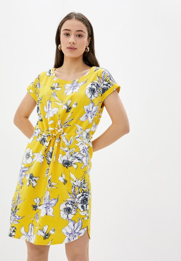 женское повседневные платье betty barclay, желтое