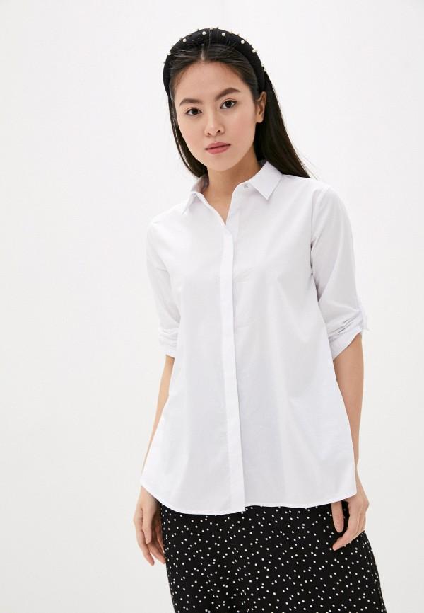 женская рубашка с длинным рукавом betty barclay, белая
