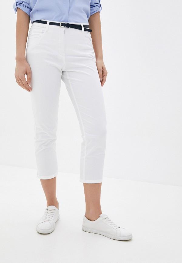 женские прямые брюки betty barclay, белые