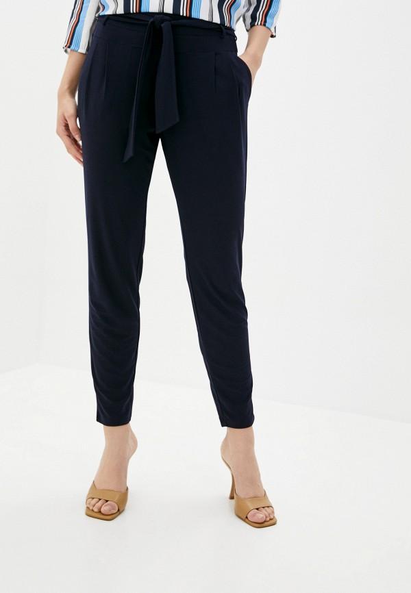 женские зауженные брюки betty barclay, синие
