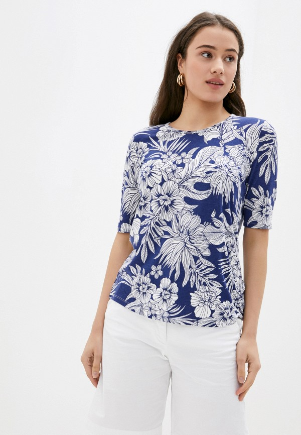женская футболка betty barclay, синяя