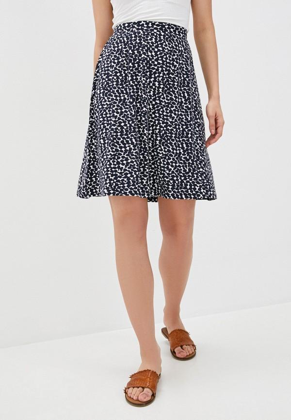 женская юбка-трапеции betty barclay, синяя