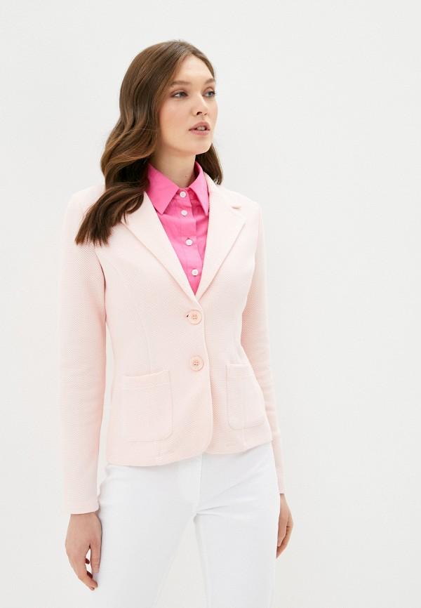 женский пиджак betty barclay, розовый