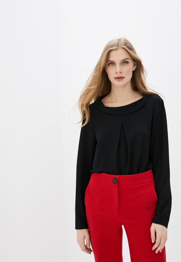 женская блузка с длинным рукавом betty barclay, черная