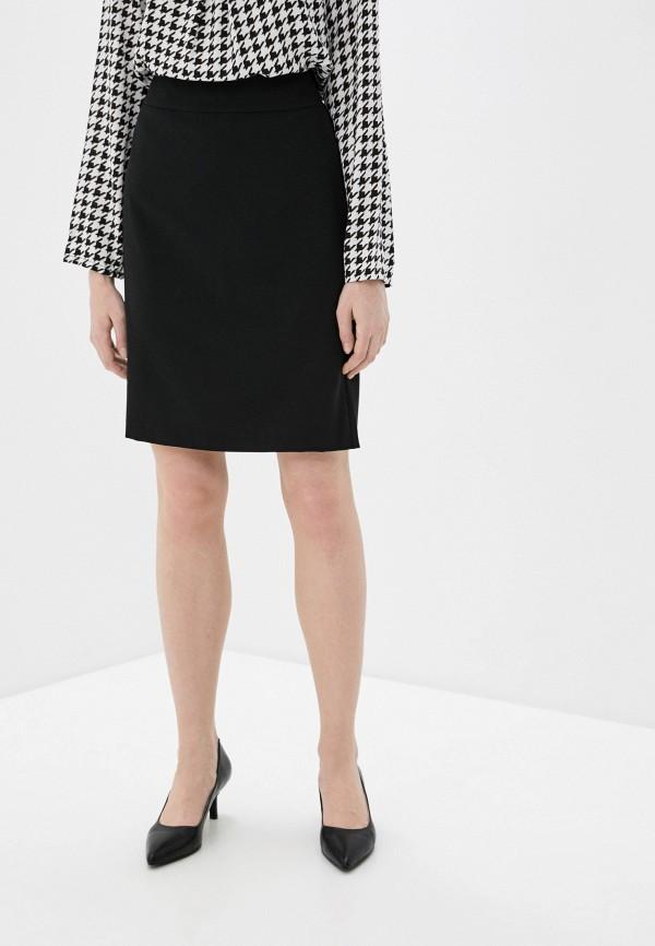 женская прямые юбка betty barclay, черная