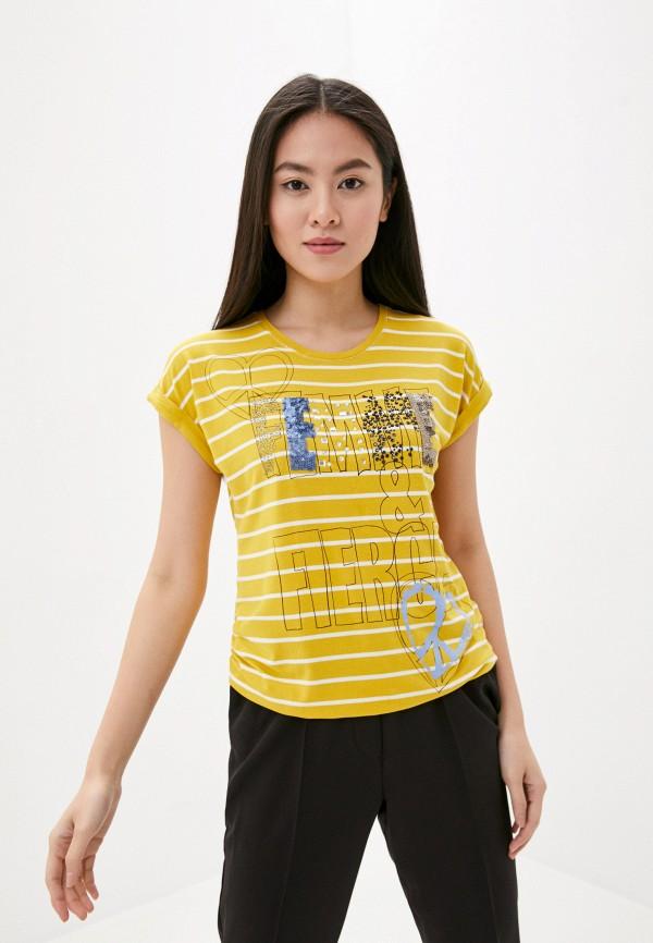 женская футболка betty barclay, желтая