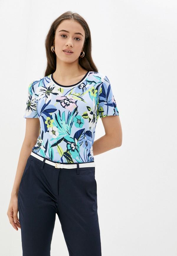 женская футболка betty barclay, голубая