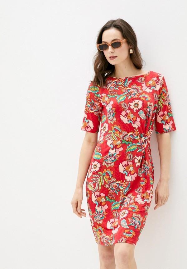 женское повседневные платье betty barclay, красное