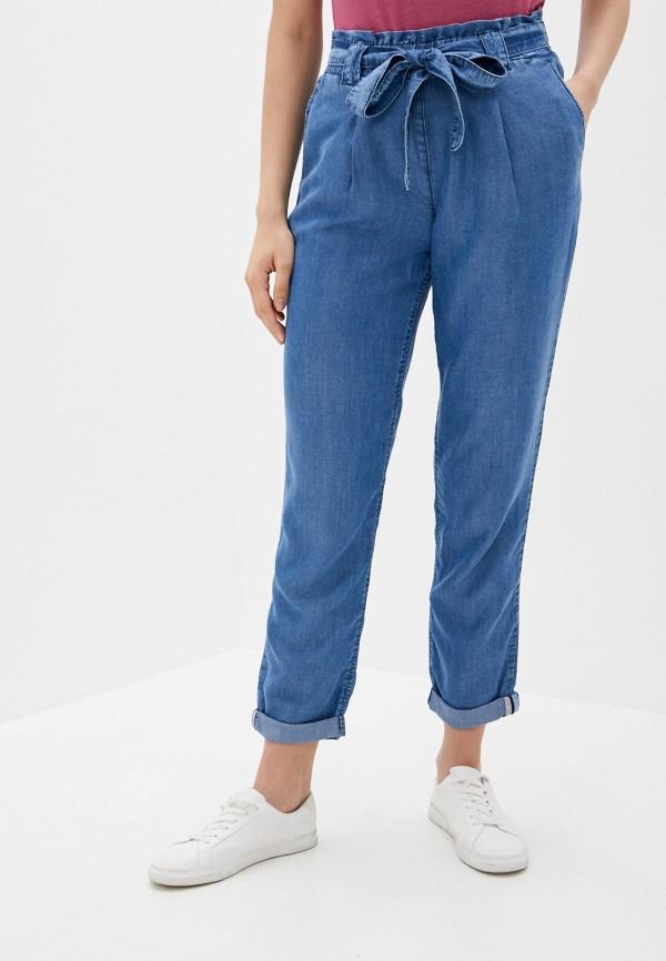 женские прямые брюки betty barclay, голубые