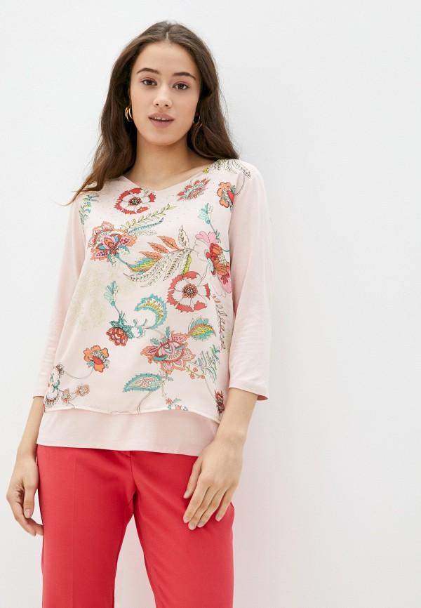 женская блузка betty barclay, розовая
