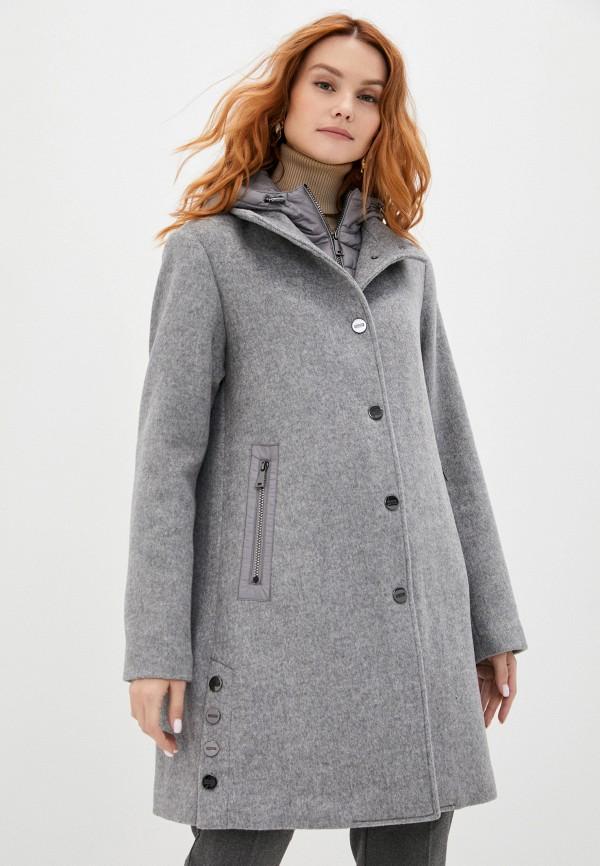 женское пальто betty barclay, серое