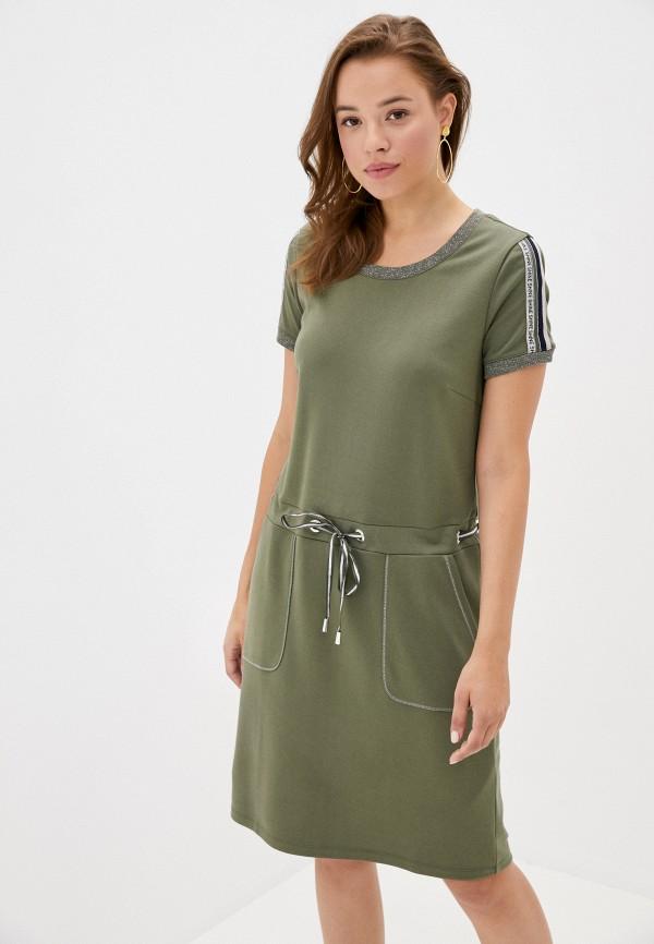 женское повседневные платье betty barclay, хаки