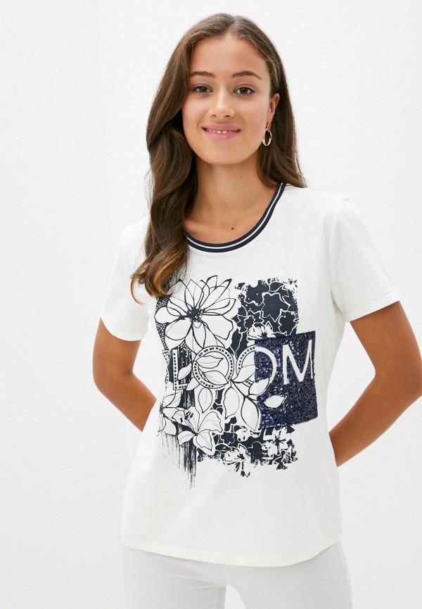 женская футболка betty barclay, белая