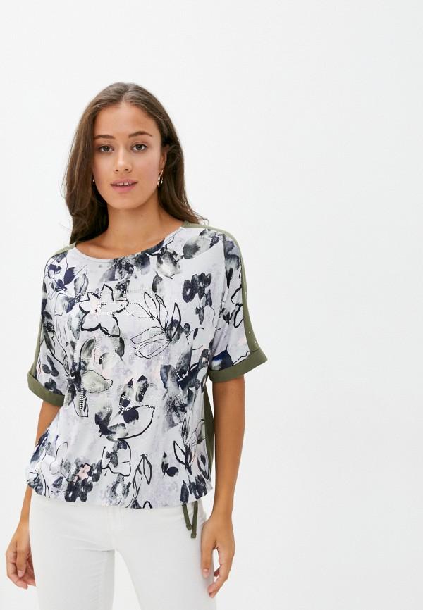 женская футболка betty barclay, хаки