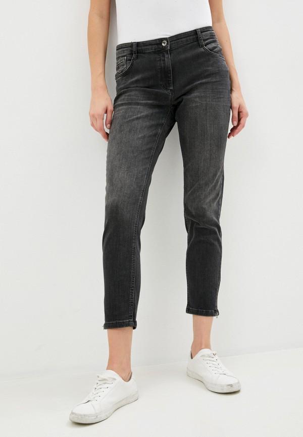 женские джинсы скинни betty barclay, черные