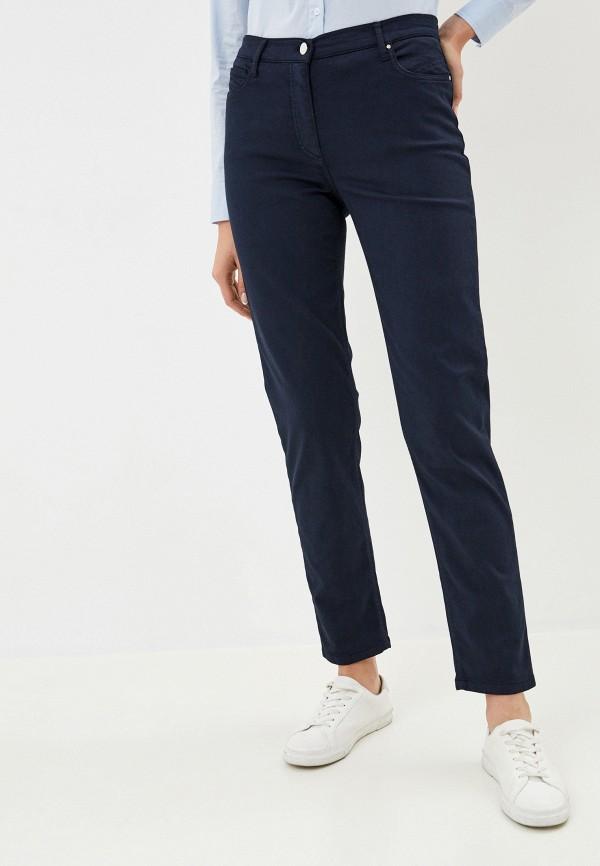 женские прямые брюки betty barclay, синие