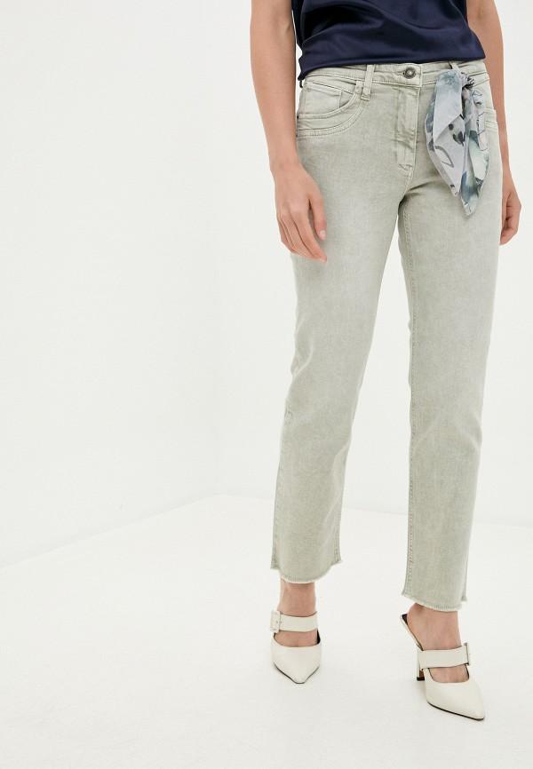 женские прямые джинсы betty barclay, серые
