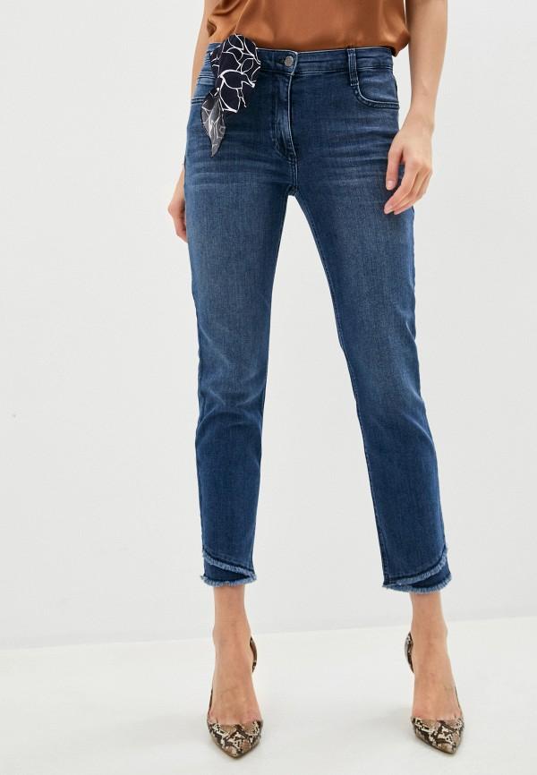 женские джинсы-мом betty barclay, синие
