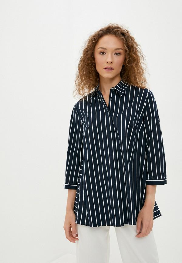 женская блузка betty barclay, синяя