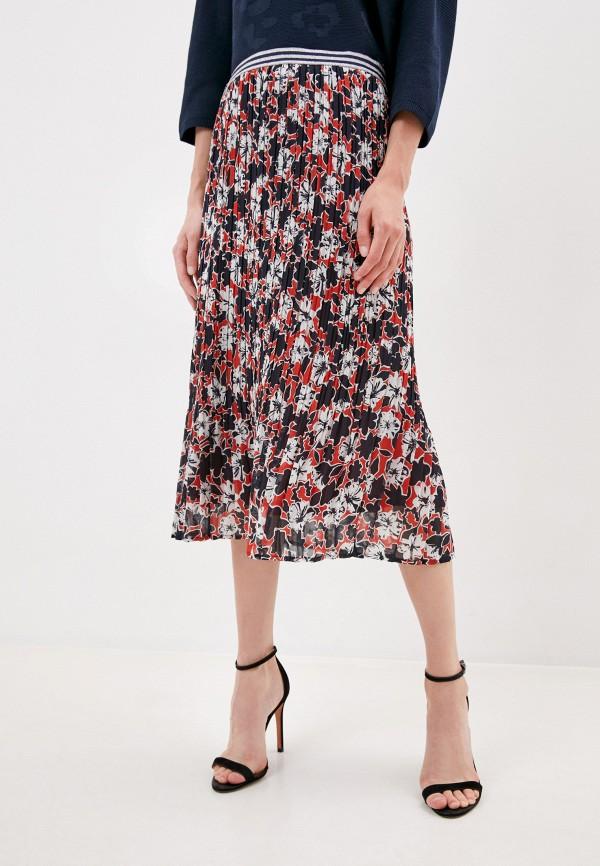 женская плиссированные юбка betty barclay, разноцветная