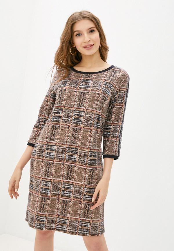 женское повседневные платье betty barclay, бежевое