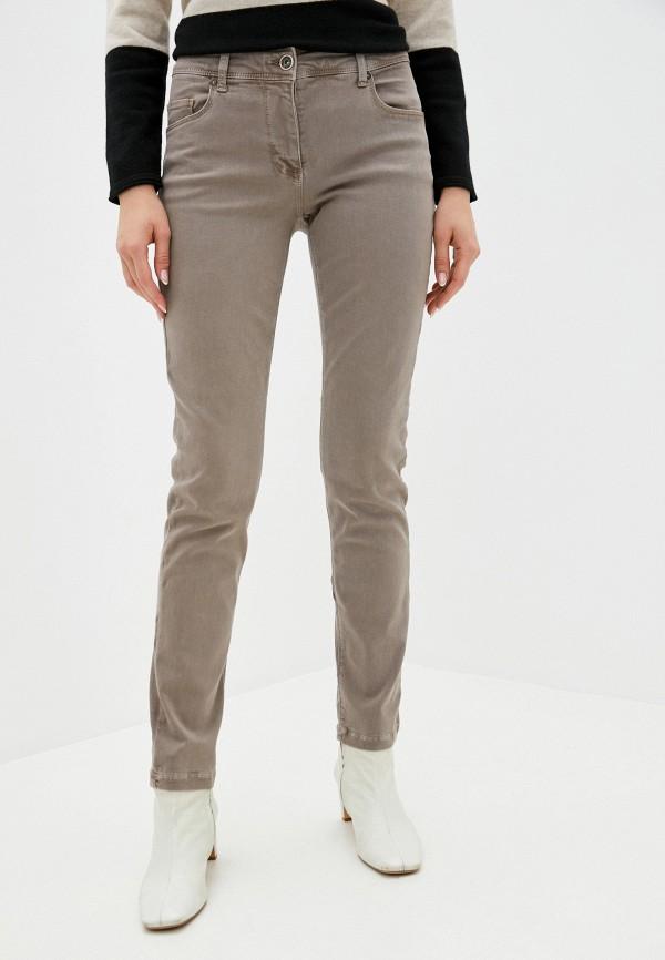 женские прямые брюки betty barclay, бежевые