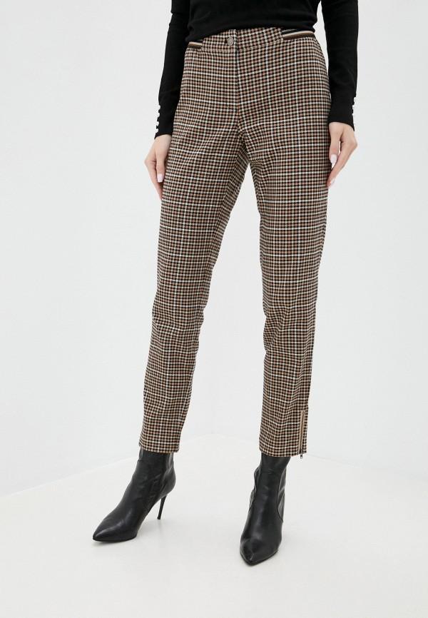 женские зауженные брюки betty barclay, бежевые