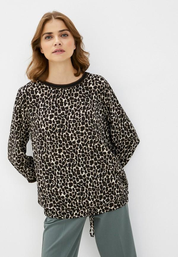 женская блузка betty barclay, коричневая