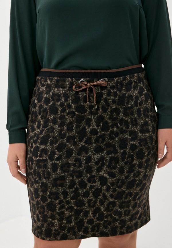 женская прямые юбка betty barclay, коричневая