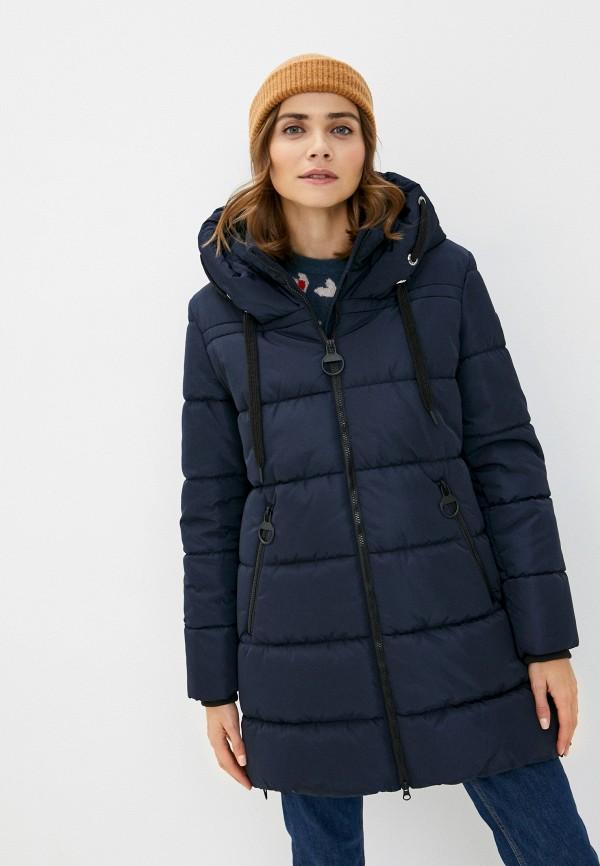 женская куртка betty barclay, синяя