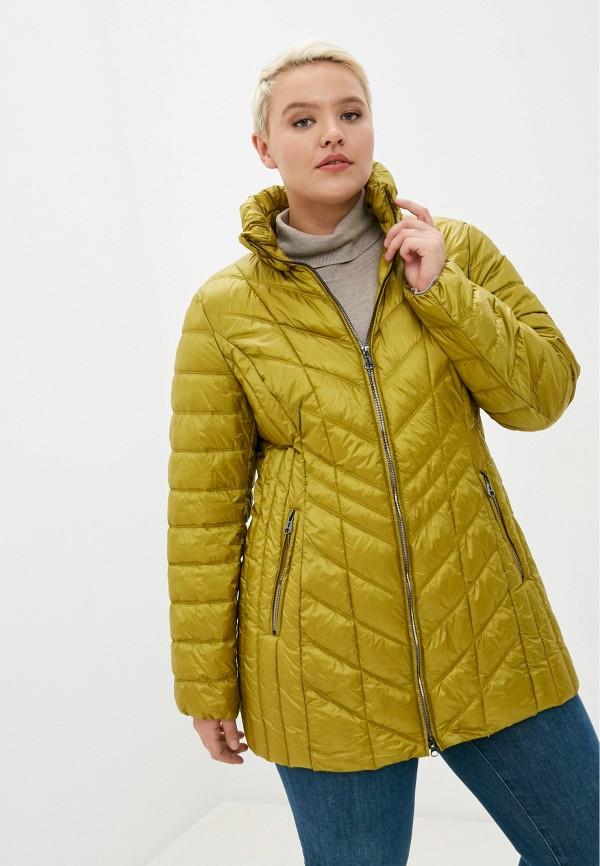 женская куртка betty barclay, желтая