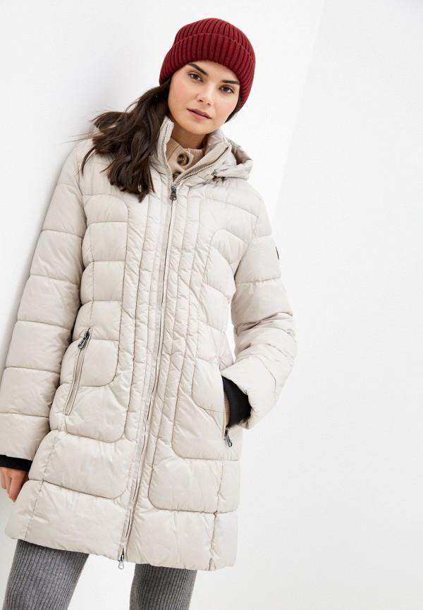 женская куртка betty barclay, бежевая