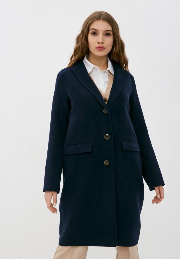 женское пальто betty barclay, синее