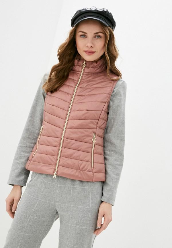 женский жилет betty barclay, розовый