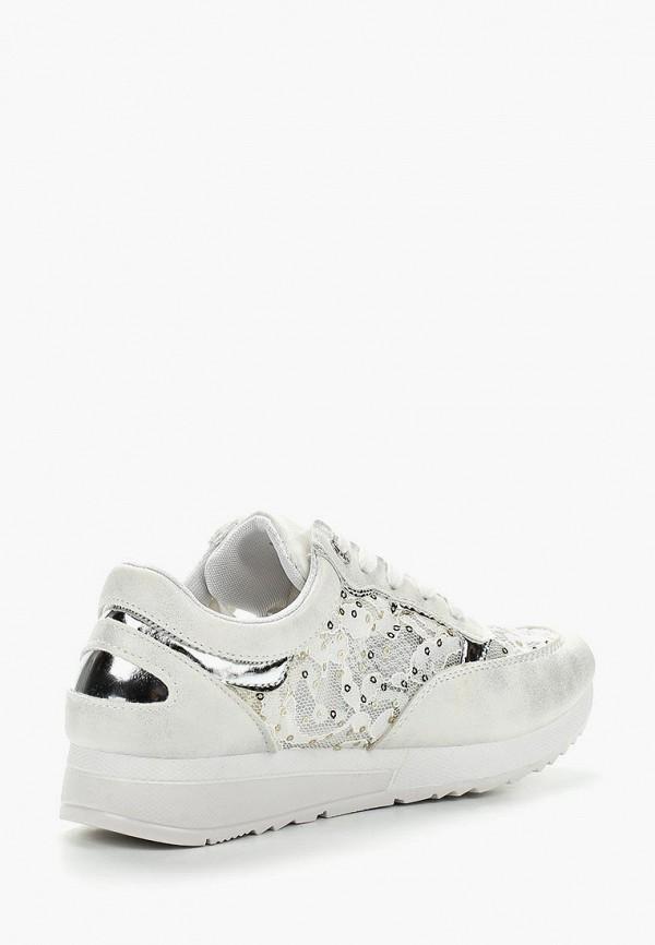 Фото 11 - женские кроссовки Bellamica белого цвета