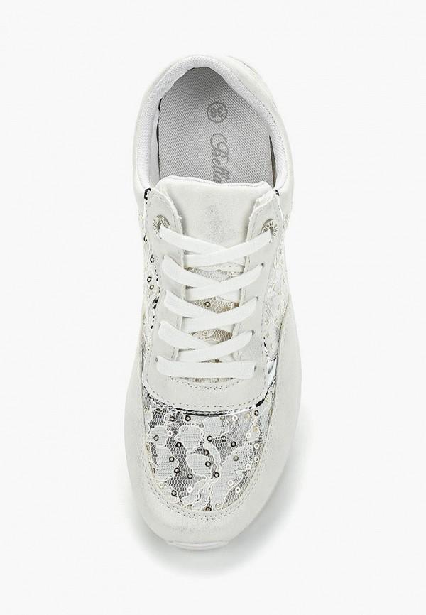 Фото 13 - женские кроссовки Bellamica белого цвета