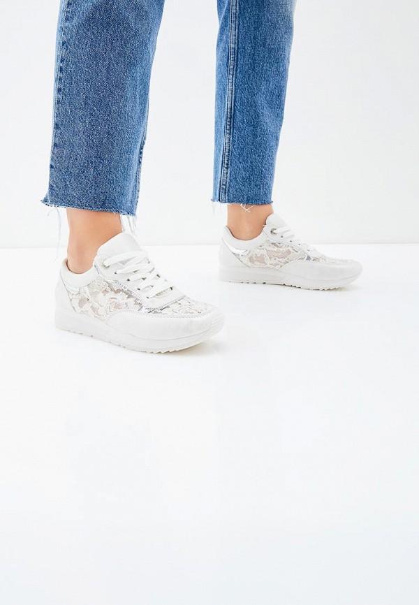 Фото 14 - женские кроссовки Bellamica белого цвета