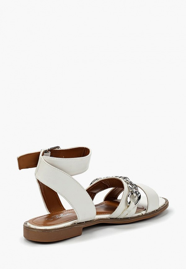 Фото 2 - женские сандали Bellamica белого цвета