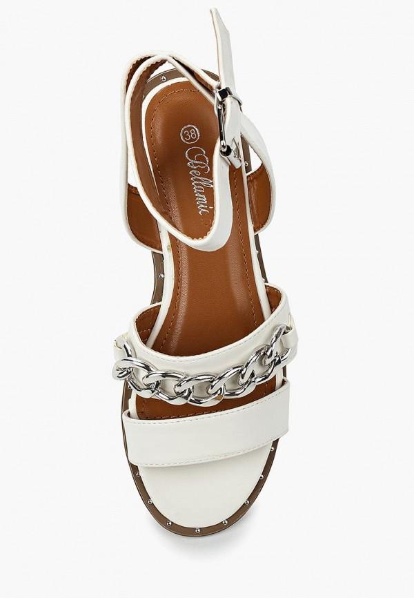 Фото 4 - женские сандали Bellamica белого цвета