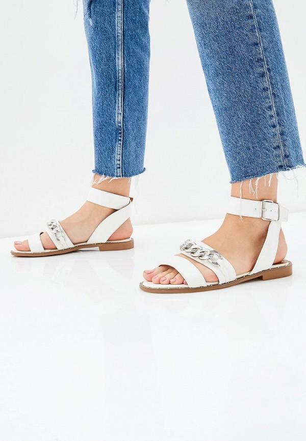 Фото 5 - женские сандали Bellamica белого цвета