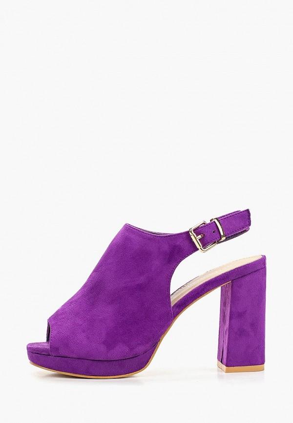 женские босоножки bellamica, фиолетовые