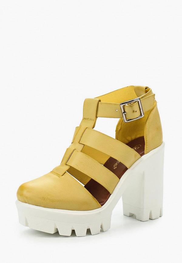 Купить Босоножки Bellamica, BE058AWIOO51, желтый, Весна-лето 2016