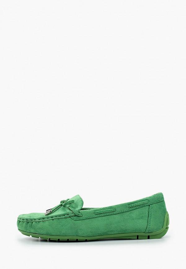 женские мокасины bellamica, зеленые
