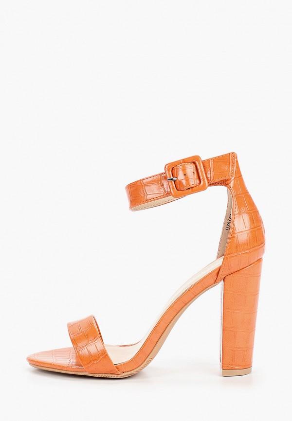 женские босоножки bellamica, оранжевые