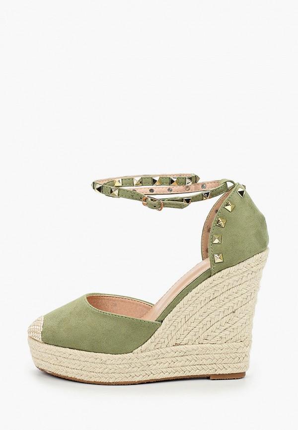 женские туфли bellamica, зеленые