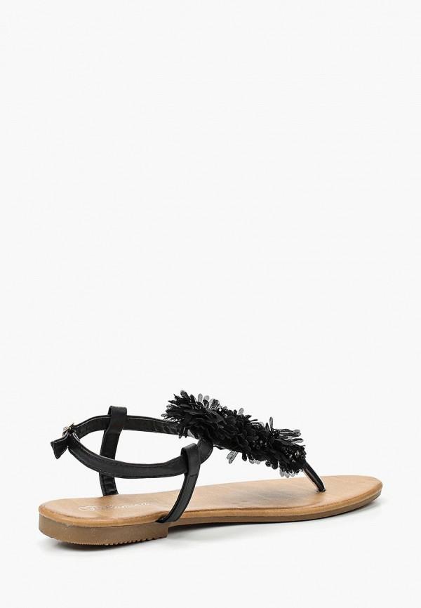 Фото 12 - женские сандали Bellamica черного цвета
