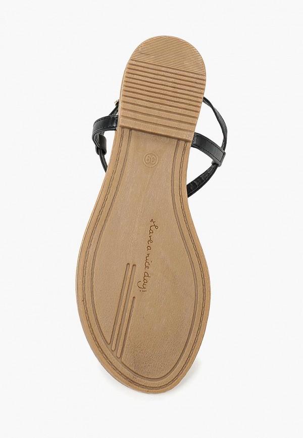 Фото 13 - женские сандали Bellamica черного цвета