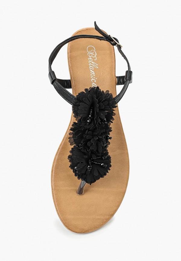 Фото 14 - женские сандали Bellamica черного цвета