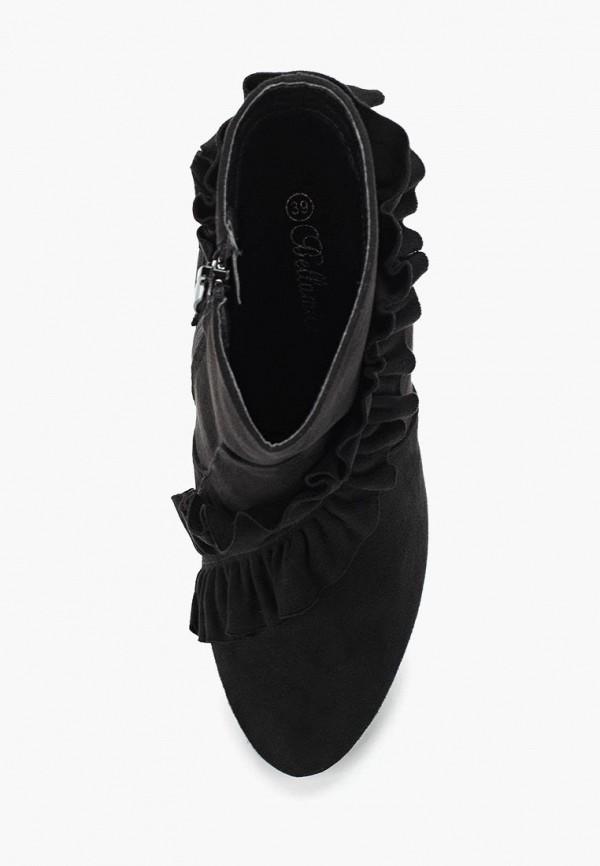 Фото 14 - женские ботильоны Bellamica черного цвета