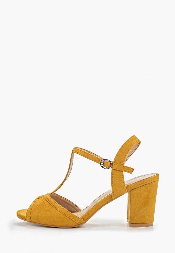 женские босоножки bellewomen, желтые